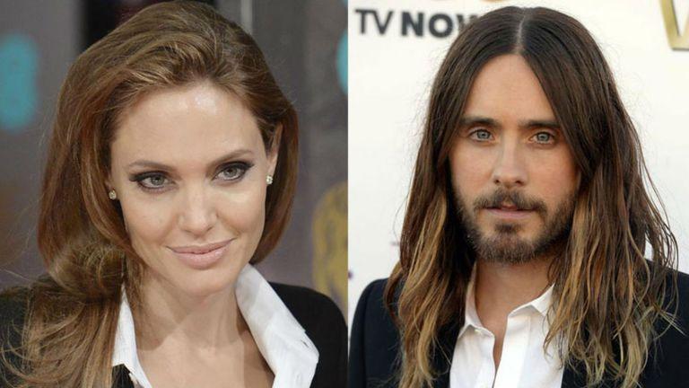 Angelina Jolie y Jared Leto, ¿de novios?