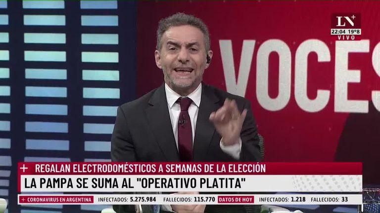 """Luis Majul: """"Alerta: autodestrucción vertiginosa"""""""