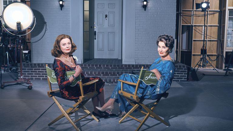 La serie cuenta la historia del rodaje de ¿Qué pasó con Baby Jane? (1962)