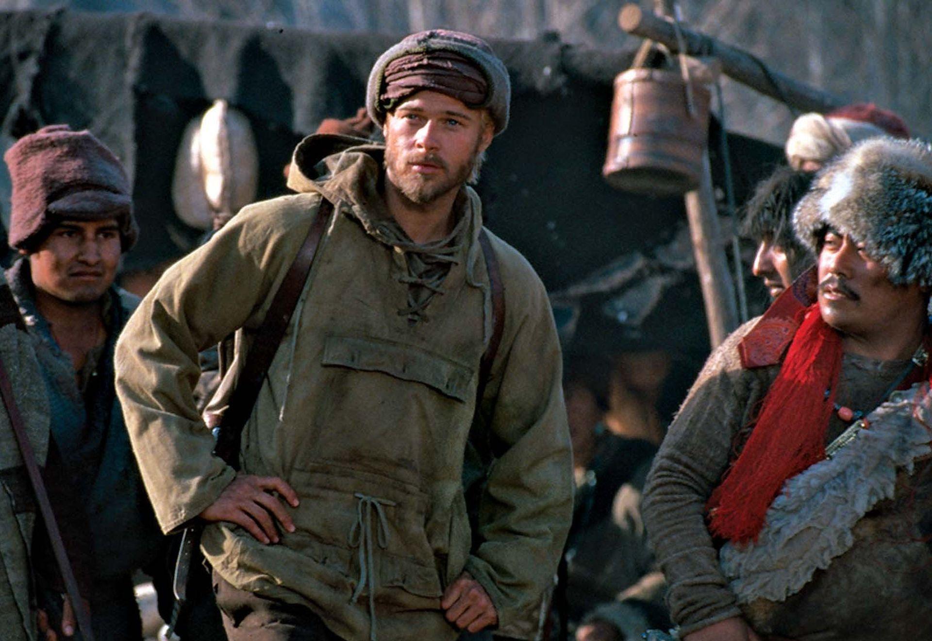 Brad Pitt, protagonista de Siete Años en el Tibet.