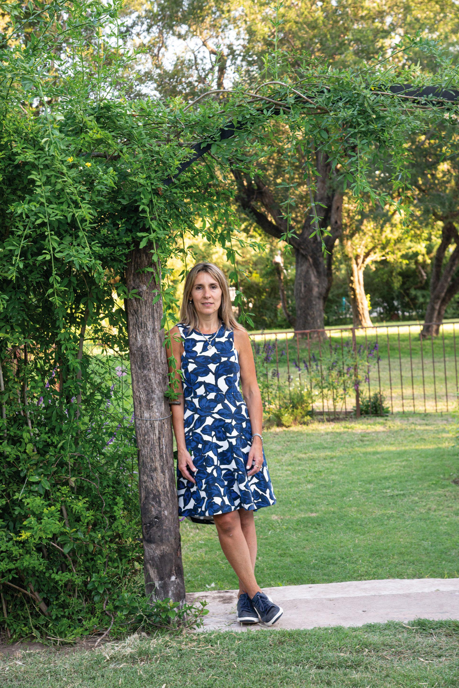 Ivana Sol Vittore, alma máter del jardín.