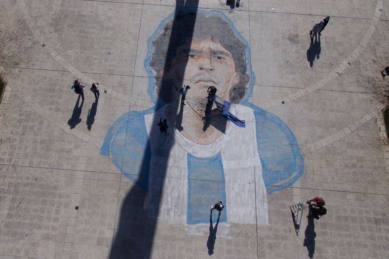 Argentina despidió a Diego en dos días de angustia y dolor