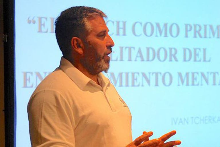 Iván Tcherkaski fue el psicólogo de Boca durante tres años