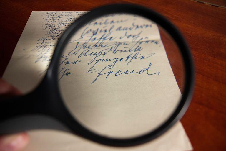 La carta de Freud fue escrita en Alemania y está datada el 21 de junio de 1938