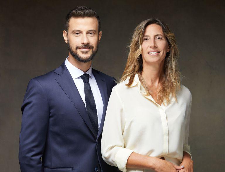 Diego Leuco y Luciana Geuna, conductores del nuevo Telenoche.