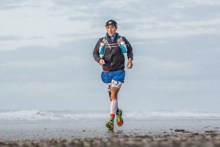 Luciano Zabala y el mar