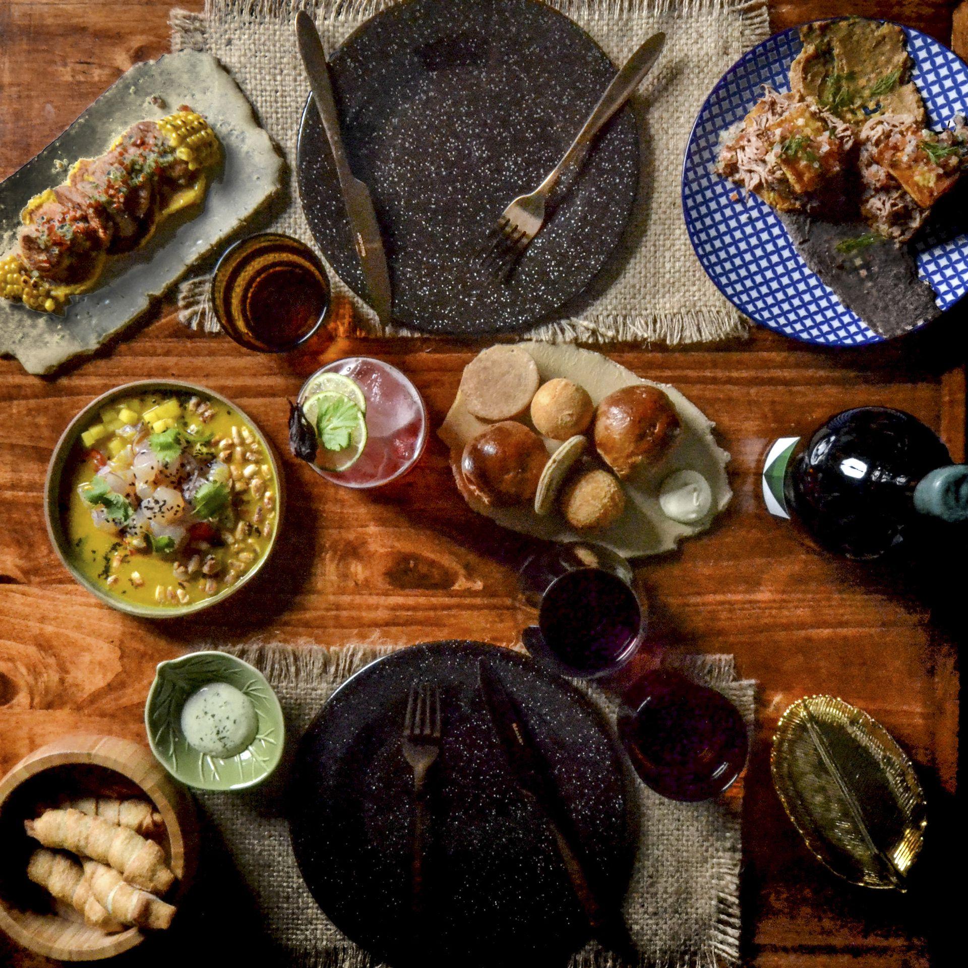 Ronconcon propone tapeos de sabores bien latinos, con recetas típicas de Venezuela, Colombia, Perú, México y Ecuador.