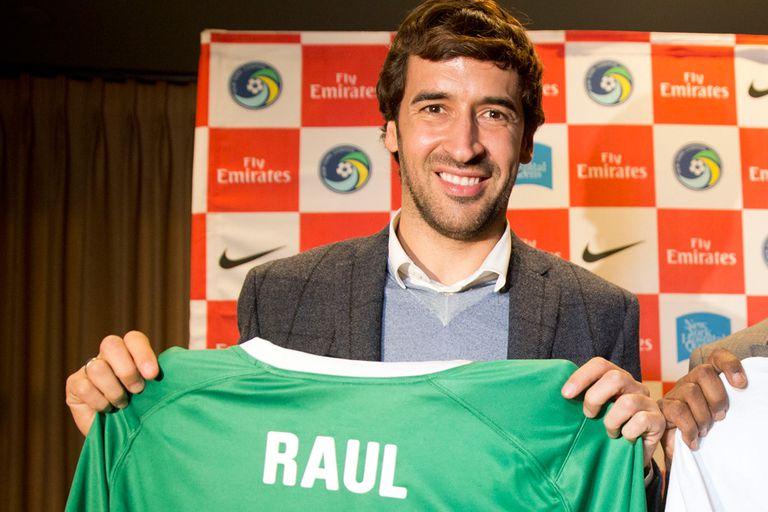 Raúl debutó en las redes estadounidenses