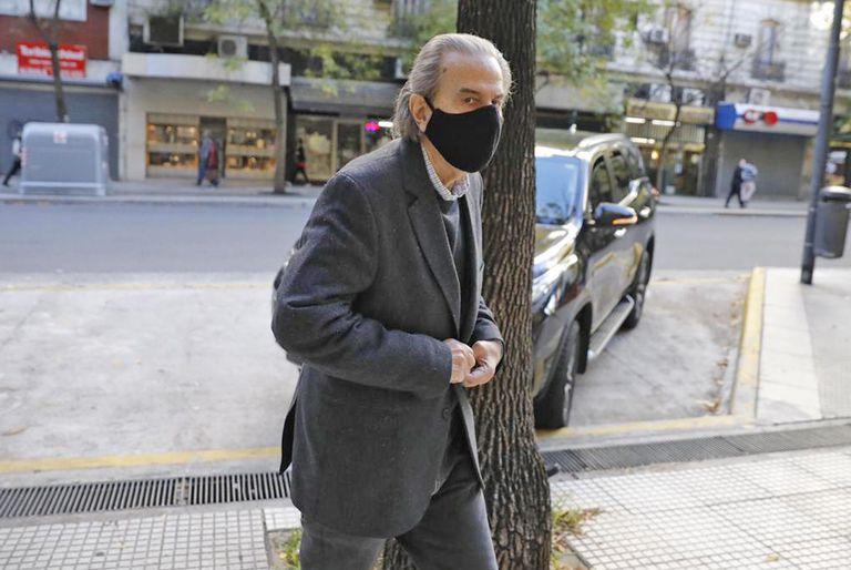 Juan Carlos Maqueda al llegar a los tribunales