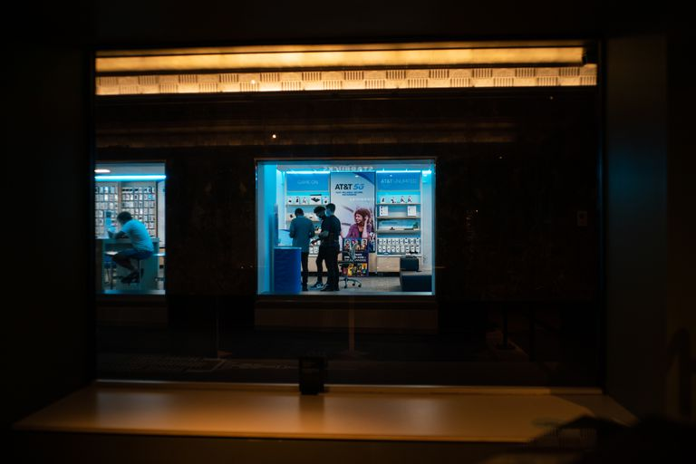 Un negocio en el Empire State en Manhattan (Todd Heisler/The New York Times)