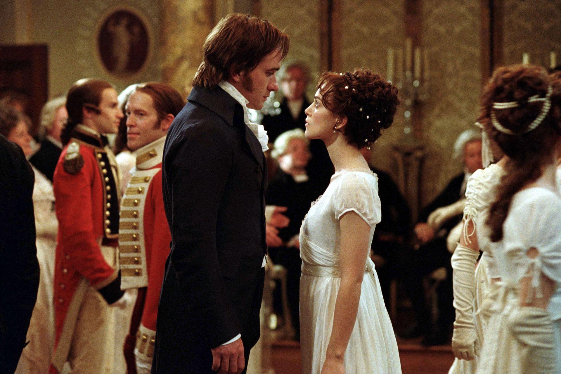 Orgullo y prejuicio, la inolvidable versión protagonizada por Keira Knightley como Elizabeth Bennet