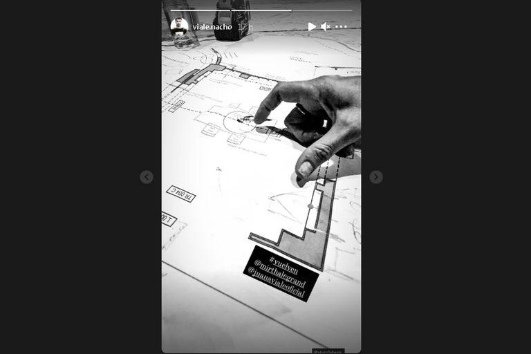 Nacho Viale publicó en sus redes sociales las fotos del nuevo estudio en dónde ambas conductoras harán los programas que volverán a la pantalla de eltrece