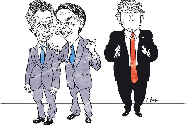 Macri y Bolsonaro ahora miran hacia Estados Unidos