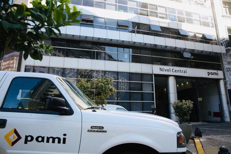 Sede del Pami Nivel Central hoy 23 abril