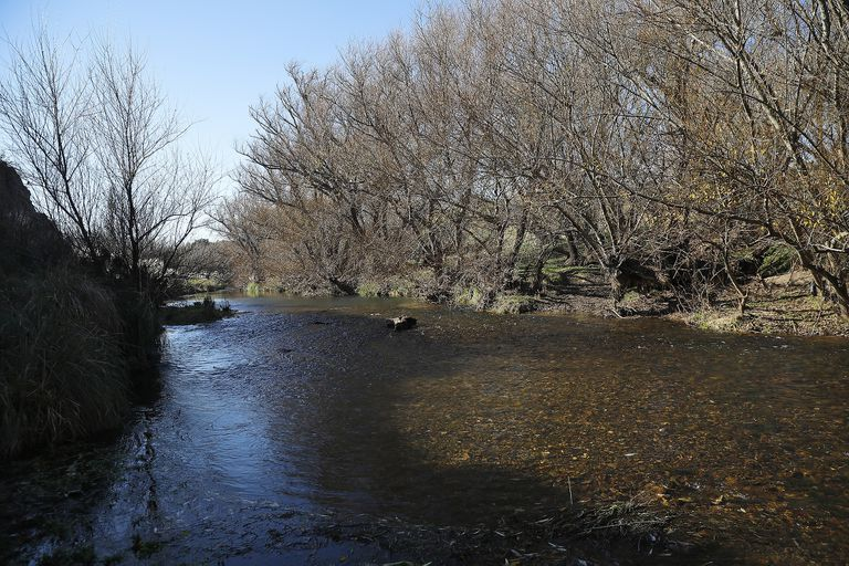El río Sauce Chico