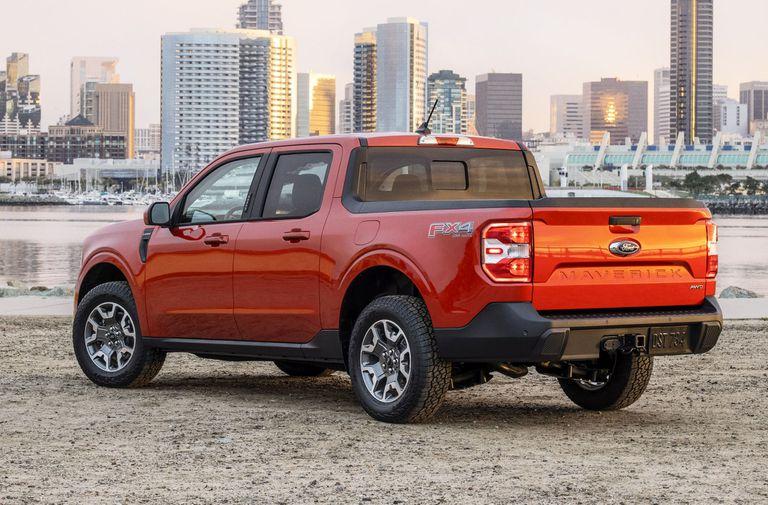 La caja de la Ford Maverick se puede adaptar a diversos usos