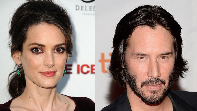 Winona Ryder y Keanu Reeves volverán a trabajar juntos