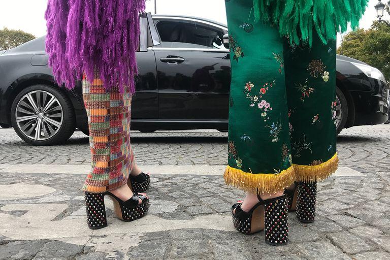 El glamour en las calles parisinas
