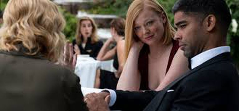 Sarah Snook y  Kingsley Ben-Adir en Soulmate (Amazon Prime Video)