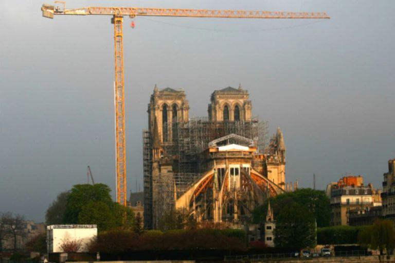 A un año del incendio de Notre Dame, la reconstrucción está paralizada
