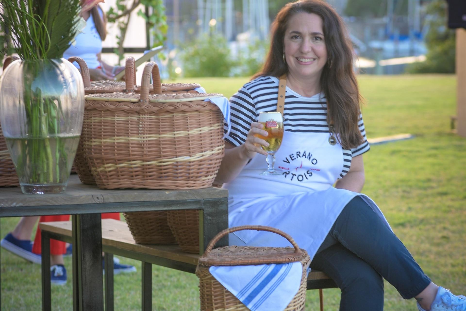 Narda Lepes y sus tips para hacer un picnic saludable