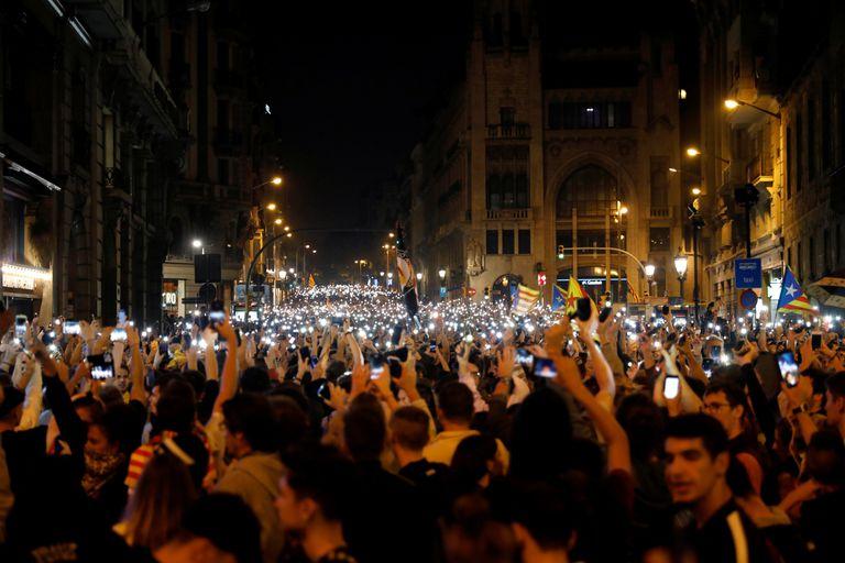 La Justicia condenó a los líderes catalanes y volvió a encender al separatismo