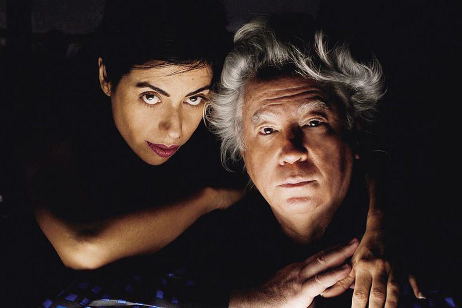 Polesello y su pareja, Naná Gallardo