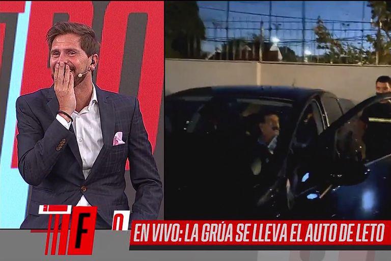 La burla del Pollo Vignolo a Roberto Leto por un incidente que tuvo con su auto