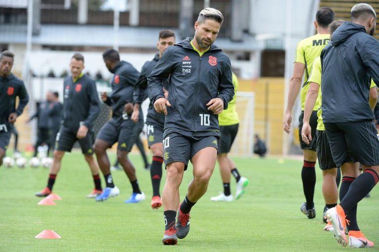 Diego es la gran estrella de Flamengo. Atravesó una complicada lesión, pero ya está vuelta.