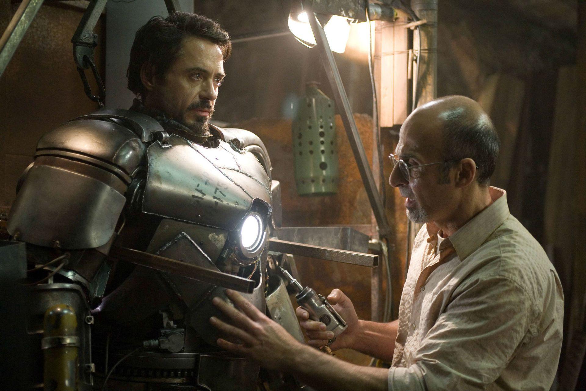 Tony Stark y su primera armadura