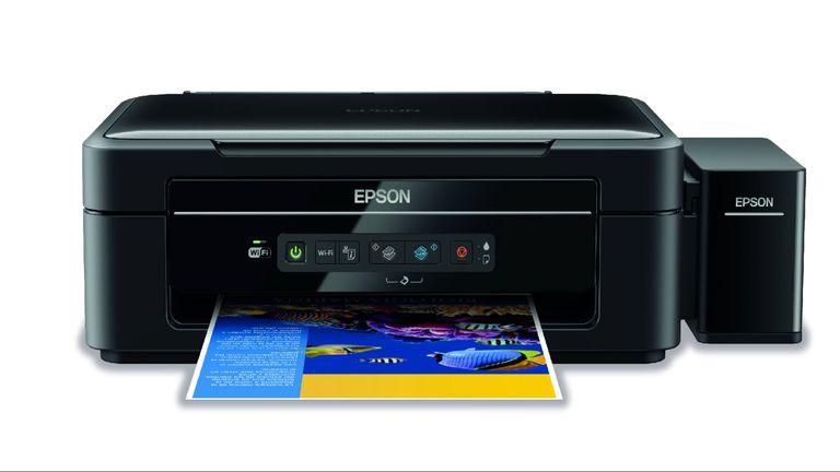 Multifunción Epson L365 ($ 6199) la velocidad de impresión alcanza las 33 ppm en negro y 15 ppm a color