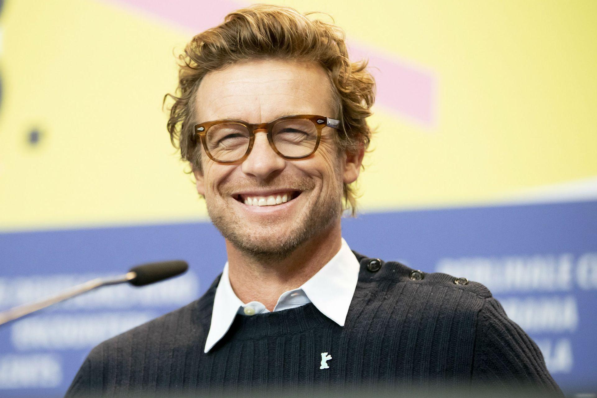 El actor australiano de 50 años saltó a la fama gracias a la serie The Mentalist