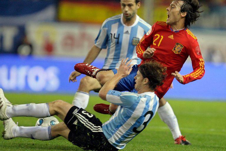 Cristian Ansaldi, el jugador N° 23 de la selección Argentina