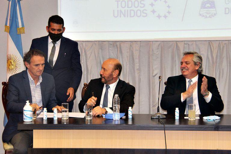 """Desde Formosa, el Presidente se despegó de la iniciativa de Fernanda Vallejos; habló de """"corregir"""" el impuesto a las ganancias y lo consideró """"injusto"""""""