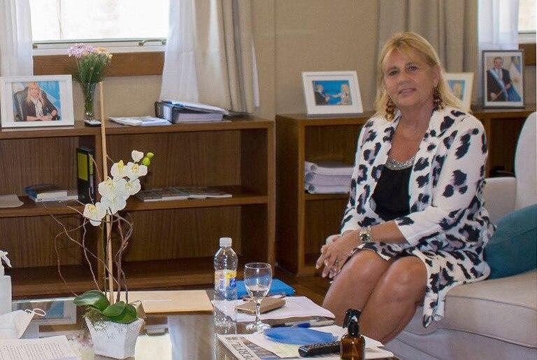 Marcela Losardo,  Ministra de Justicia y DDHH de la Nación