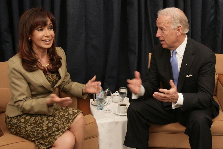 Biden. Cómo era el vínculo con Cristina antes de la crisis diplomática de 2011
