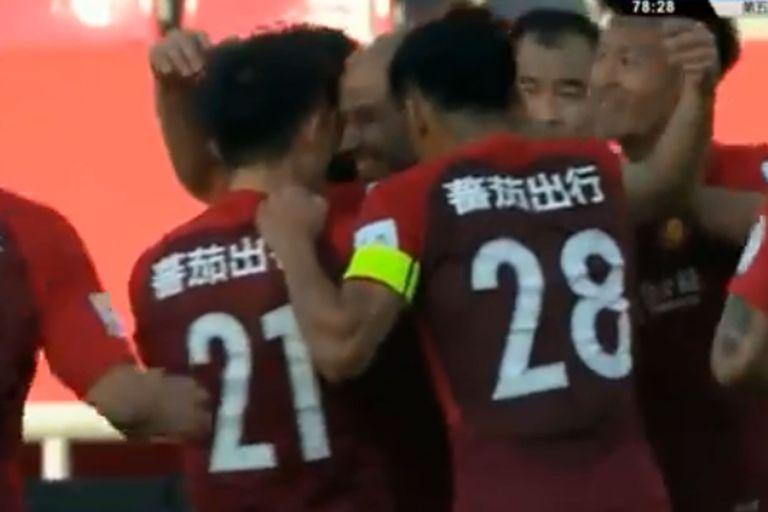 Video: el primer gol de Mascherano en China, con la camiseta de Hebei Fortune
