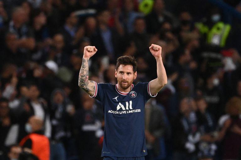 Lionel Messi sonrió en París, la imagen menos pensada y lo que dijo tras su primer gol en PSG