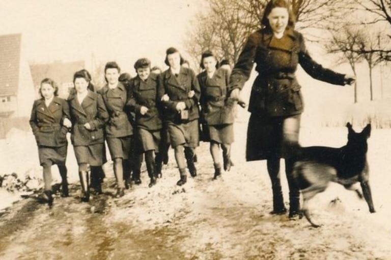 Mujeres guardias del campo de concentración nazi Ravensbrück