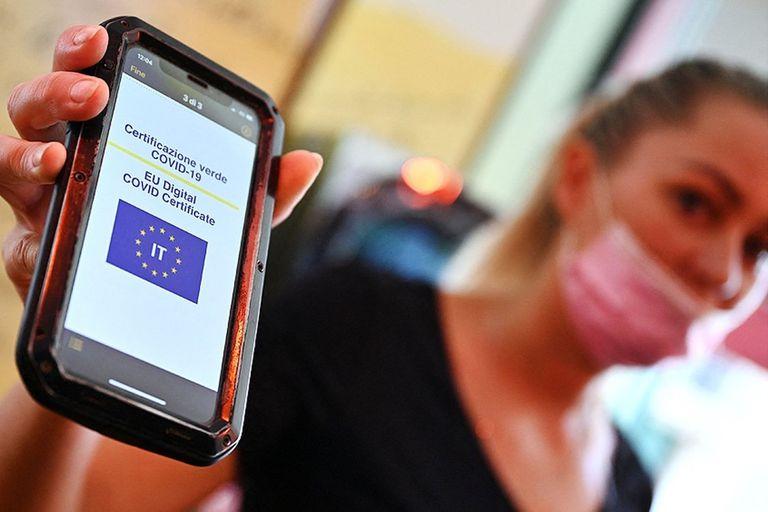 Italia, otro de los países que exige pase sanitario para viajar en transporte público y acceder a gimnasios y restaurantes, entre otros sitios