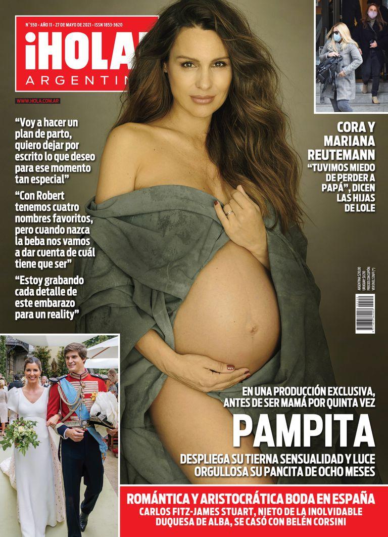 La tapa de la revista ¡Hola! Argentina de esta semana.