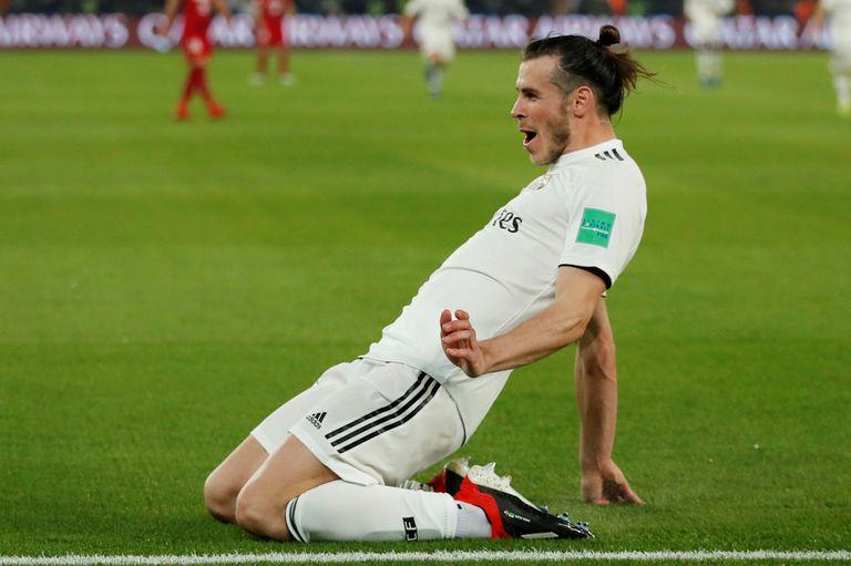 Bale marcó tres goles en el triunfo de Real Madrid ante Kashima Antlers.
