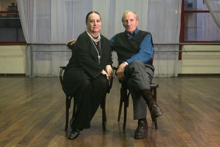 Enrique Lommi y Olga Ferri una pareja clave en escena y, sobre todos, como maestros de bailarines