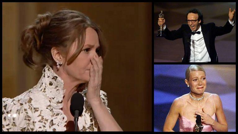 Los discursos menos elocuentes del Oscar
