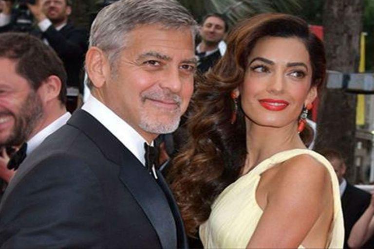 Amal contó por primera vez cómo la conquistó George Clooney