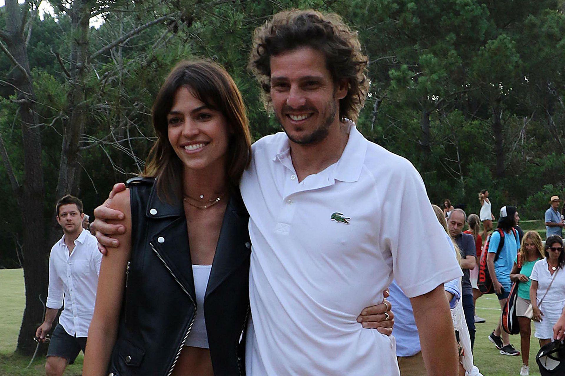 Gastón Gaudio y Helena Ayerza