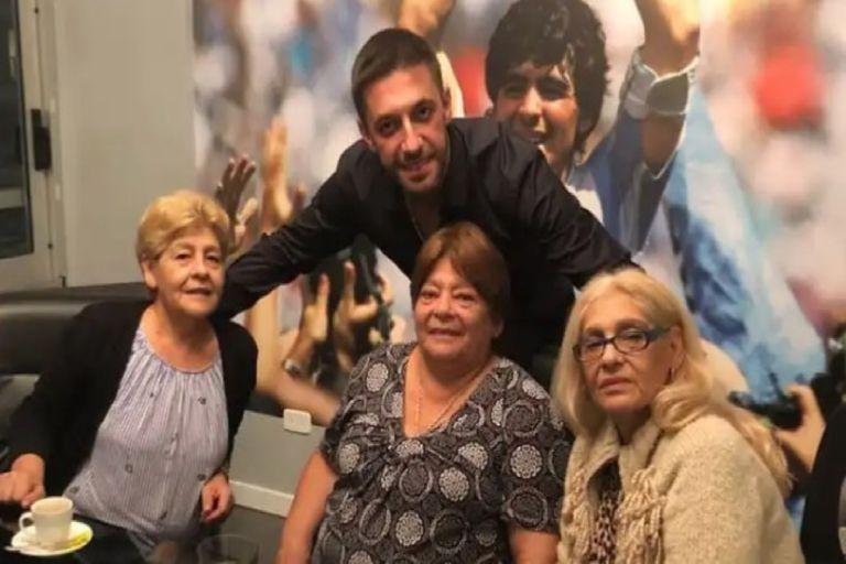 El motivo por el que las hermanas de Diego Maradona serán testigos de la boda de Matías Morla