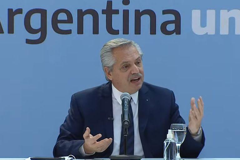 El presidente Alberto Fernández dispuso el cepo a las exportaciones de carne vacuna