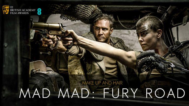Mejor maquillaje y peluquería: Mad Max
