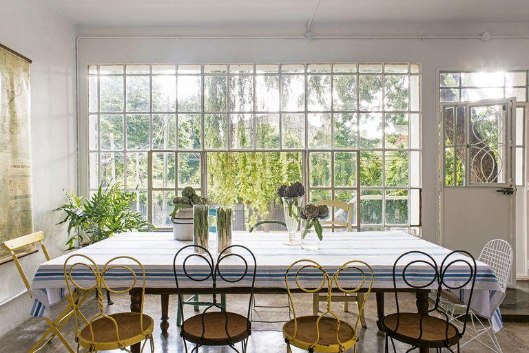 De antiguo club social a hogar y salón de una chef